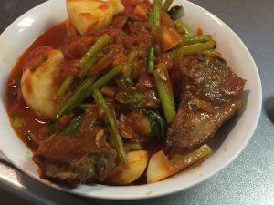 ラム肉,トマト,レシピ