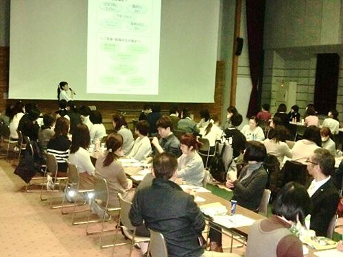 心と心をつなぐハンドコミュニケーション☆厚愛地区医療介護連携会議主催